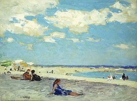 Edward Henry Potthast: Long Beach