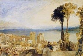 Joseph Mallord William Turner: Ascona am Lago Maggiore.