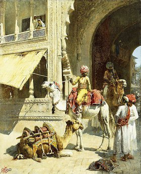 Edwin Lord Weeks: Kamelreiter in Indien