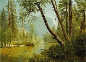 Albert Bierstadt: Fluss im Sonnenlicht (Merced River, Yosemite Valley)