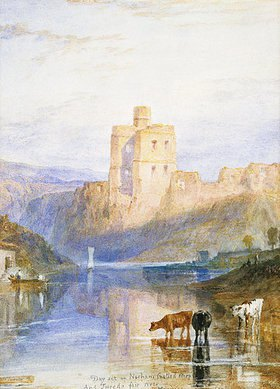 Joseph Mallord William Turner: Norham Castle. Illustration zu Walter Scott's Marmion