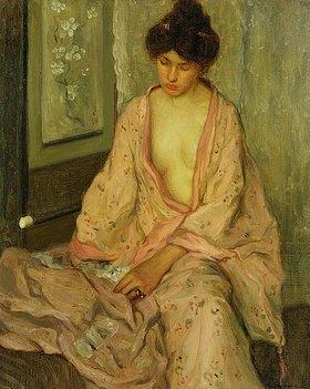 Frederick Karl Frieseke: Der rosafarbige Kimono