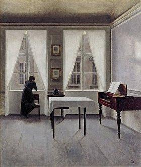 Vilhelm Hammershoi: Interieur, Strandgade