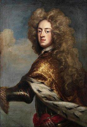 Johann Leonhard Hirschmann: Georg II. von England als Prince of Wales