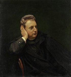 Hans Thoma: Bildnis des Schauspielers Alexander Römpler