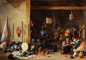 David Teniers: In einer Wachstube. Um 1640er Jahre