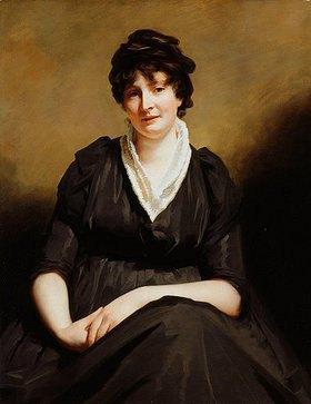 Sir Henry Raeburn: Dreiviertelporträt von Mrs. Dundas of Dundas in einem schwarzen Kleid