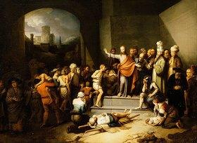 Christian Wilhelm Dietrich: Christus heilt die Kranken