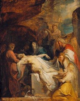 Peter Paul Rubens: Grablegung Christi