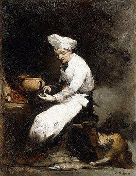 Théodule Augustin Ribot: Der Koch und die Katze