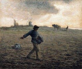 Jean-François Millet: Der Sämann (Le Semeur)