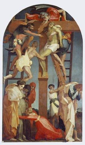 Rosso Fiorentino (Giovanni-B. di Jacopo): Kreuzabnahme