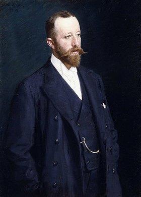 Peter Severin Kroyer: Porträt eines Herren