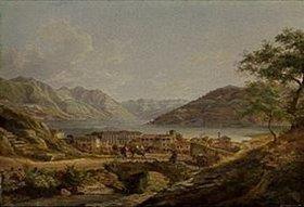 Heinrich Adam: Italienischer (wahrscheinlich Comer-) See
