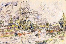 Paul Signac: Der Hafen von Landerneau