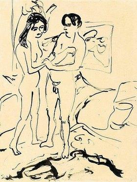 Ernst Ludwig Kirchner: Das Paar
