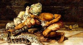 Eugène Pavy: Der Schlangenbeschwörer