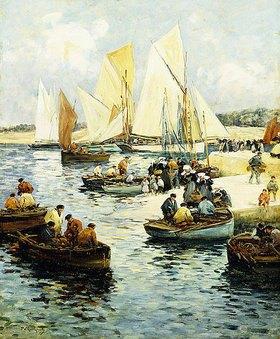 Fernand Legout-Gérard: Rückkehr der Fischer, Concarneau