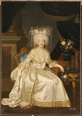 Joseph Boze: Bildnis der Maria Josepha von Savoyen (1753-1810), Comtesse De Provence