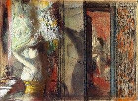 Edgar Degas: Garderobe der Schauspielerinnen (Loge d'Actrices)