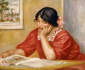 Auguste Renoir: Leontine beim Lesen (Leontine Lisant)