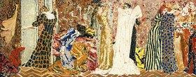 Edouard Vuillard: Das Nähatelier I (Erster Entwurf)