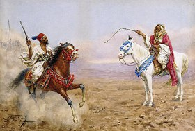 Giulio Rosati: Arabische Reiter
