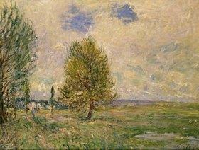 Alfred Sisley: Felder bei Veneux-Nadon