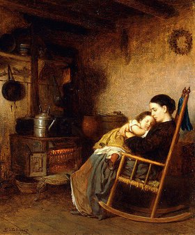 Eastman Johnson: Mutter und Kind