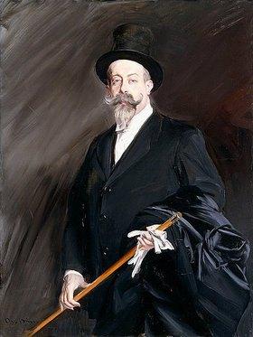 Giovanni Boldini: Porträt von Willy, dem Schriftsteller Henri Gauthier-Villars
