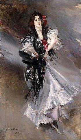 Giovanni Boldini: Porträt von Anita de la Feria, einer spanischen Tänzerin
