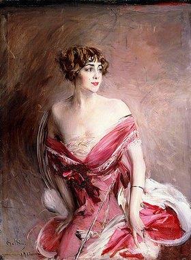 Giovanni Boldini: Mlle. de Gillespie, La Dame de Biarritz