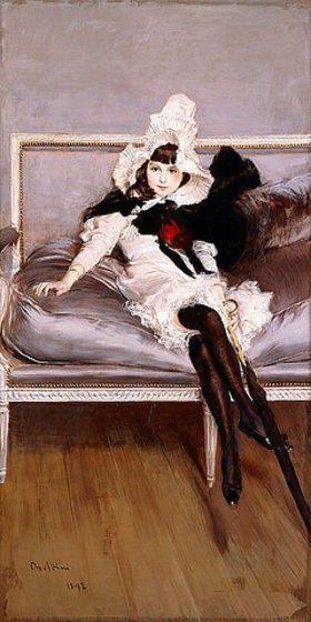 Giovanni Boldini: Porträt von Giovinetta Errazuriz