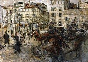 Giovanni Boldini: La Place Pigalle