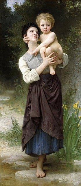William Adolphe Bouguereau: Bruder und Schwester (Frère et s?ur)
