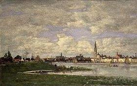Eugène Boudin: Blick auf Antwerpen