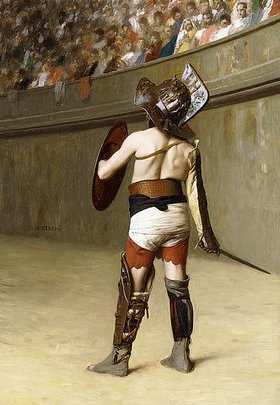 Jean-Léon Gérome: Murmillo - Ein gallischer Gladiator