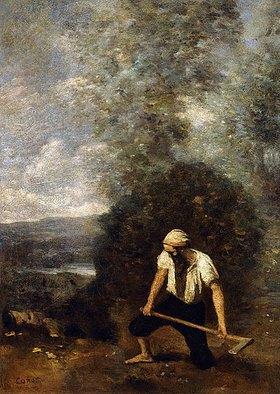 Jean-Baptiste Camille Corot: Der Holzfäller (Le bûcheron)
