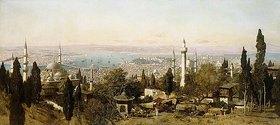 Edmund Berninger: Ansicht von Konstantinopel