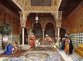 Filippo Baratti: Büchsenmacher in der Alhambra, Granada