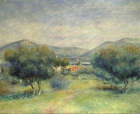 Auguste Renoir: Landschaft bei Toulons