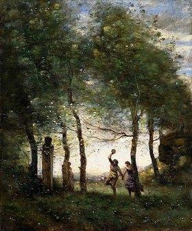 Jean-Baptiste Camille Corot: Kleines Bacchanal