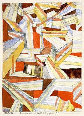 Paul Klee: Transparent-Perspectivisch gefügt