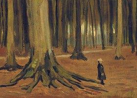 Vincent van Gogh: Ein Mädchen im Wald