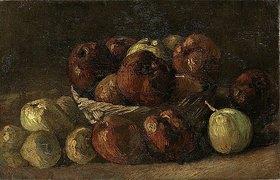 Vincent van Gogh: Stillleben: Korb mit Äpfeln