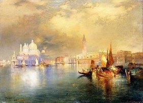 Thomas Moran: Venedig bei Mondschein