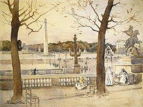 Florence Vincent Robinson: Place de la Concorde