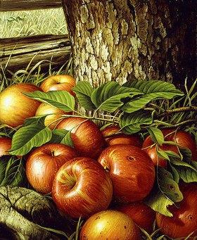 Levi Wells Prentice: Äpfel unter einem Ba
