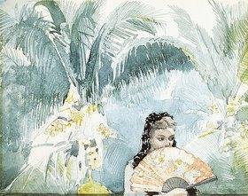 Winslow Homer: Spanierin mit Fächer
