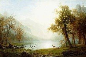 Albert Bierstadt: Tal im King's Canyon